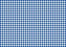 Dark Blue Gingham Pattern Background Stock Photo