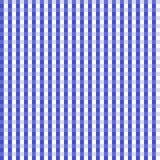 Dark Blue Gingham Seamless Background. Dark Blue Gingham Background which will tile seamlessly Stock Photo