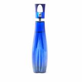 Dark blue glass bottle Stock Image