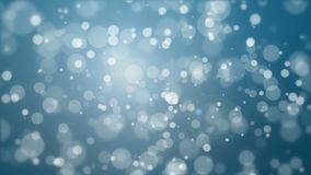Dark blue glowing bokeh background