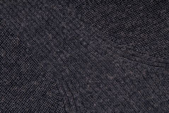 Dark blue grey background, stockinette; jersey;  tricot; knitted Stock Photos