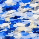 Dark blue grey and blue painting background. Dark blue grey and blue painting abstract background Stock Photos
