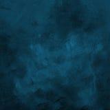 Dark blue grunge paint strokes background Stock Images