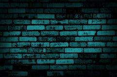 Dark blue grunge wall Stock Photos