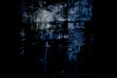 Dark blue grunge wall texture Royalty Free Stock Photography