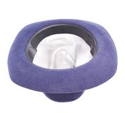 Dark blue hat isolated Royalty Free Stock Photo