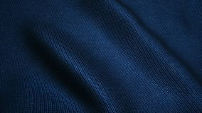 Dark blue high quality jeans texture,moving waves,Seamless loop stock footage