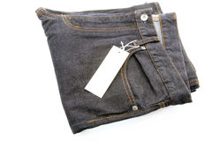 Dark Blue jeans Stock Photography