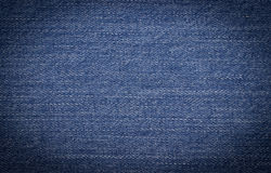 Dark blue jeans as background Royalty Free Stock Photo