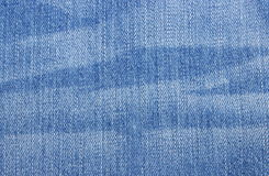 Dark blue jeans with pattern as background Royalty Free Stock Image
