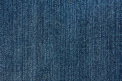 Dark blue jeans textile Royalty Free Stock Image