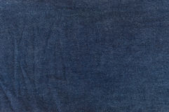 Dark blue jeans texture Stock Images