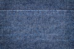 Dark Blue Jeans Texture Royalty Free Stock Images