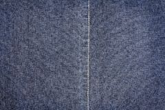 Dark Blue Jeans Texture Royalty Free Stock Image