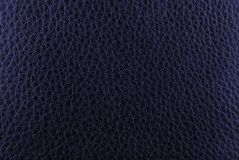 Dark blue leather texture Royalty Free Stock Image