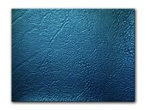 Dark blue Leatherette Background Stock Photography
