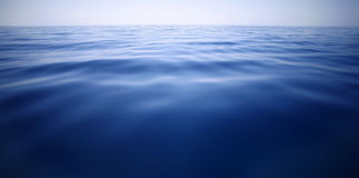 Dark blue, Mediterranean Sea Royalty Free Stock Images