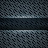 Dark blue metal background Royalty Free Stock Image