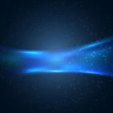 Dark blue modern hi-tech background Stock Photography