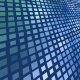 Dark blue mosaic Royalty Free Stock Photo
