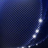 Dark blue mosaic Stock Photos