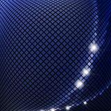 Dark blue mosaic Stock Photos