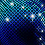Dark blue mosaic Royalty Free Stock Photo