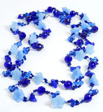 Dark blue necklace Stock Photo