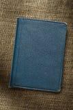 Dark blue notebook Stock Images