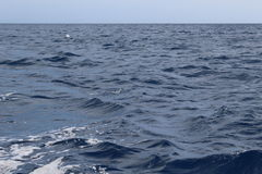 Dark blue ocean water Stock Image