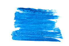 Dark blue paint Stock Photo