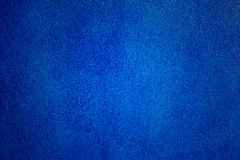 Dark blue painting rough wall Royalty Free Stock Images