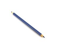 Dark blue pencil Royalty Free Stock Photo