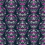 Dark blue and pink stripes elegant border in Stock Photos