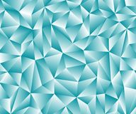 Dark blue polygonal illustration, which consist of triangles. Geometric background in ?rigami style with gradient. Triangular design for your business Stock Photo