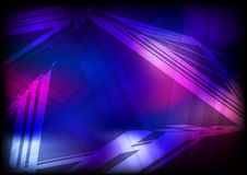 Dark blue and purple background Stock Photography