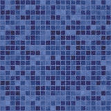 Dark blue purple mosaic Stock Image
