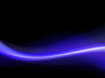 Dark blue and purple wavy background Stock Photo