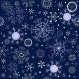 Dark blue repeating pattern Royalty Free Stock Photo