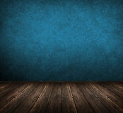 Dark blue room Royalty Free Stock Photos