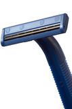 Dark blue safety razor Stock Photos