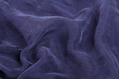 Dark blue satin Royalty Free Stock Photography