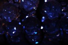 Dark blue shiny background royalty free stock image