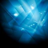 Dark blue shiny technology background Royalty Free Stock Photo