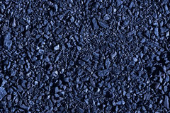 Dark blue small stones Stock Images