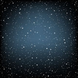 Dark blue snow background Royalty Free Stock Photo