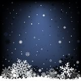 Dark blue snow mesh background Royalty Free Stock Photos