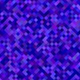 Dark blue square pattern background design Stock Images