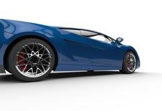 Dark Blue Supercar Royalty Free Stock Images