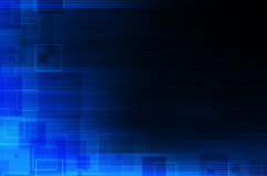 Dark blue technical abstract background Royalty Free Stock Image